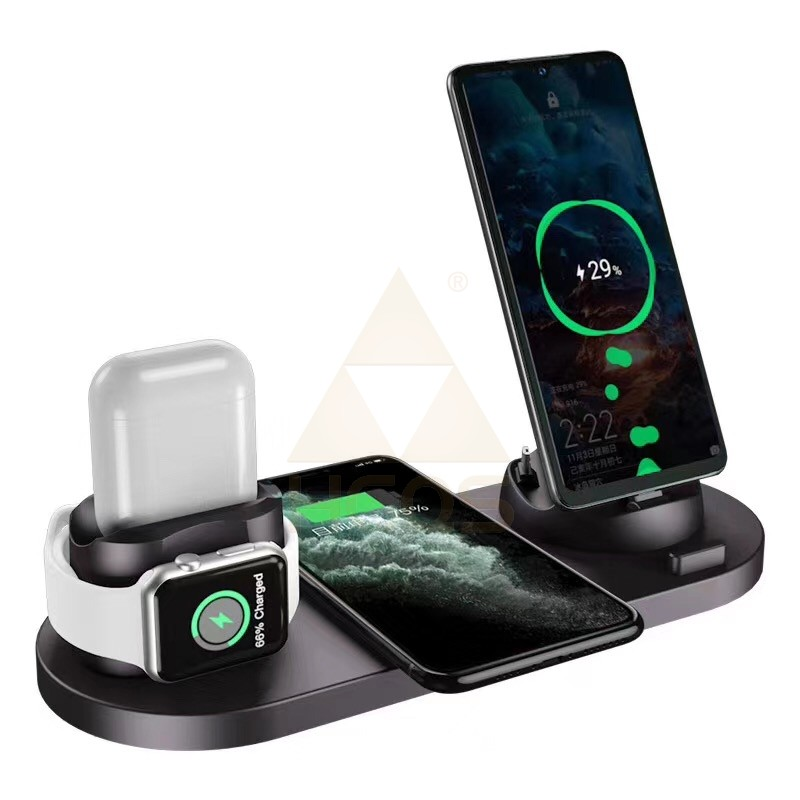 Multi-function Charging Stand for iPhone/Watch/AirPods/Android series/Type-C series(MOQ:5PCS)
