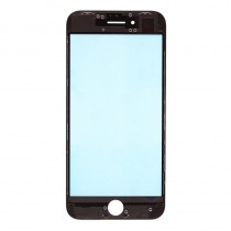 Glass Lens with Frame for Apple iPhone 8(Super OEM)-White