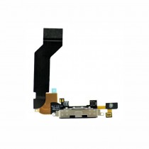 Charging Dock Flex Cable for Apple iPhone 4S(Supreme)-Black