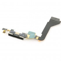 Charging Dock Flex Cable for Apple iPhone 4G(Supreme)-Black