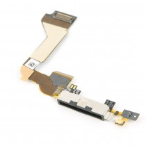Charging Dock Flex Cable for Apple iPhone 4G(Supreme)-White
