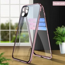 Double-sided Metal Magnetic Glass Phone Case for Apple iPhone11/pro/Pro Max