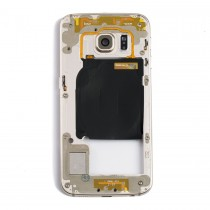 Middle Frame for Samsung Galaxy S6 Edge(Supreme)-Gold