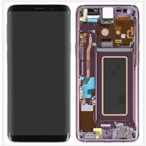 OLED Assembly with Frame for Samsung Galaxy S9 Plus (Super OEM) - Purple