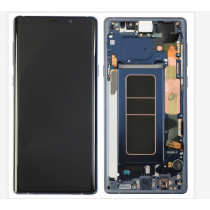 OLED Assembly with Frame for Samsung Galaxy Note 9 (Super OEM) - Blue