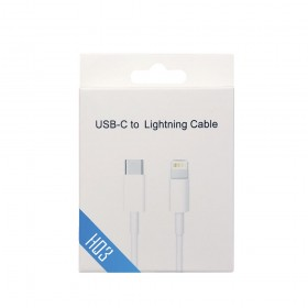 HO3 USB-C to Lightning Cable with Package for Apple iPhone-1m